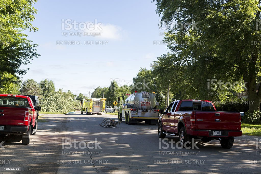 Emergency Response royalty-free stock photo