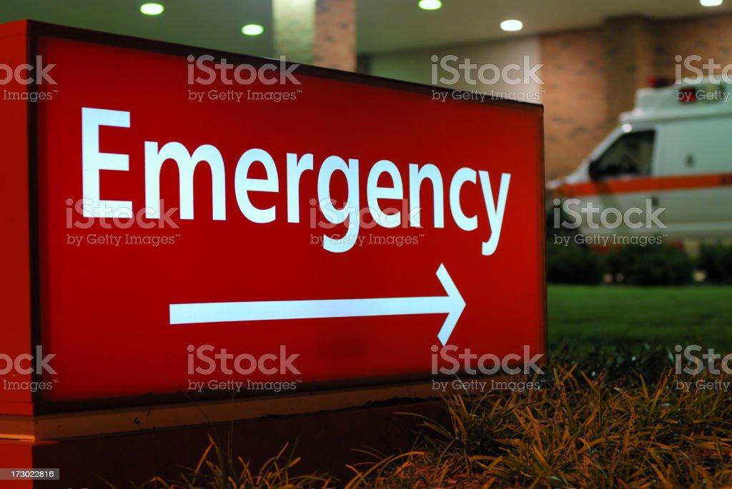 Emergency Room royalty-free stock photo