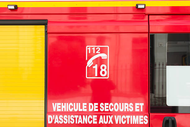 emergency vehicle and victim assistance - Photo