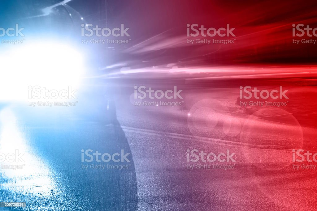 Emergency vehicle stock photo