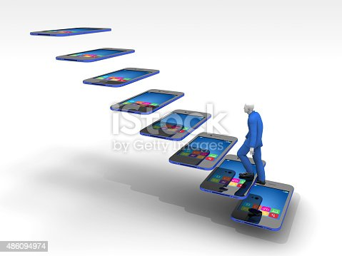 istock Emerging Internet Technology and People 486094974