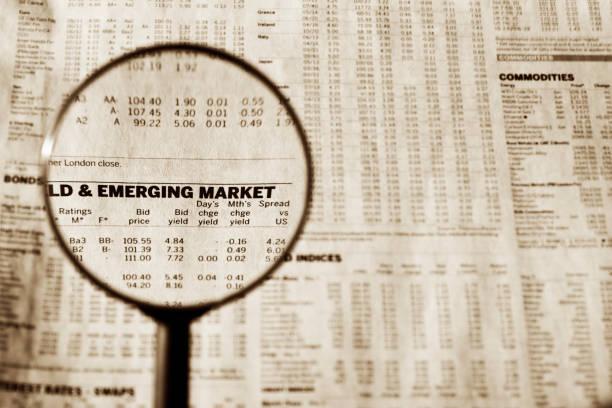 Emerging market foto