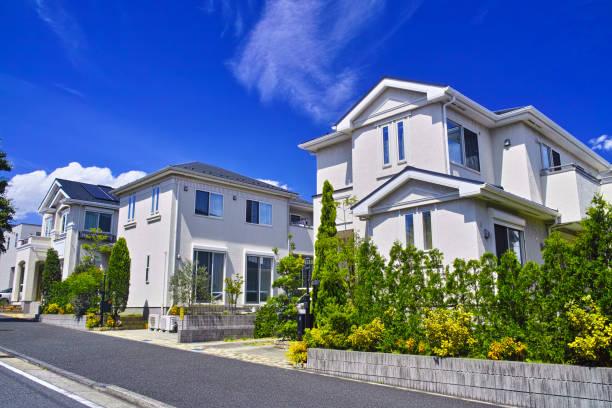 新興住宅地 - 日本 ストックフォトと画像