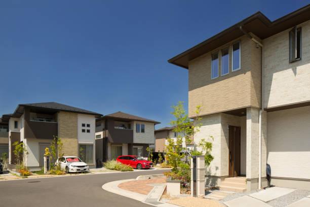 新興住宅エリア - 日本 ストックフォトと画像