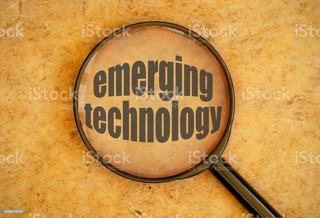 Emerging technology stock photo