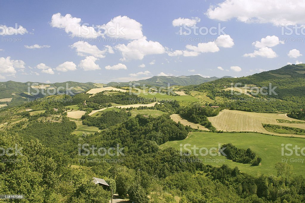 Emilia Romagna Landscape royalty-free stock photo