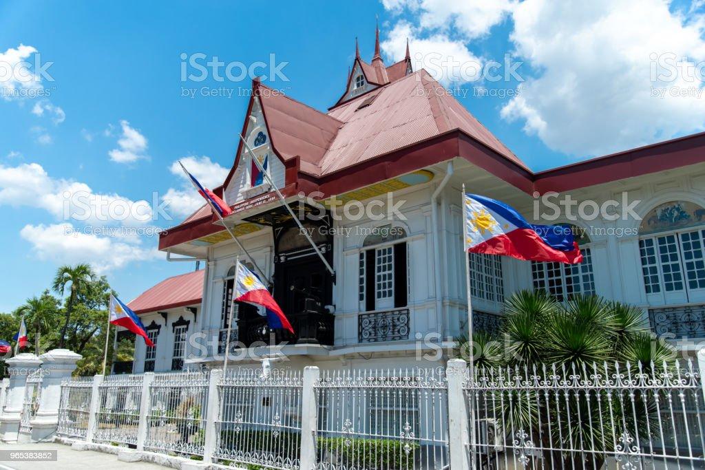 Emilio Aguinaldo Shrine in Kawit, Cavite, Philippines royalty-free stock photo