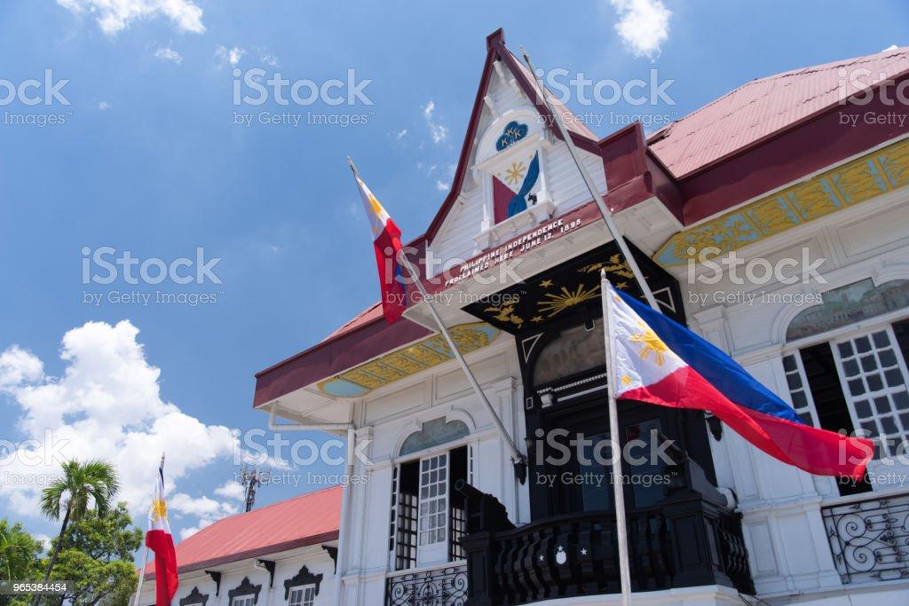 Emilio Aguinaldo Shrine in Kawit, Cavite, Philippines zbiór zdjęć royalty-free
