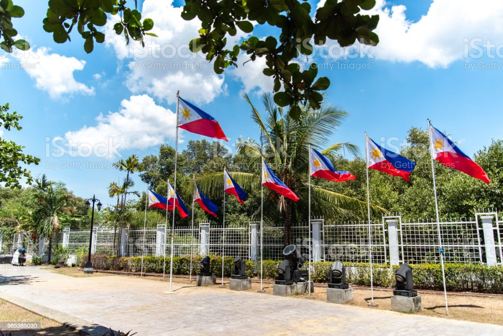 Emilio Aguinaldo Shrine in Kawit, Cavite, Philippines royalty-free stock photo