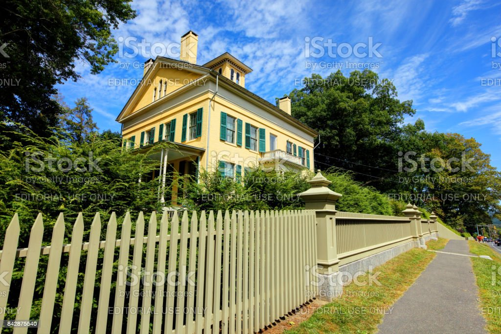 Emily Dickinson Homestead stock photo
