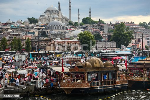 Eminönü square in istanbul