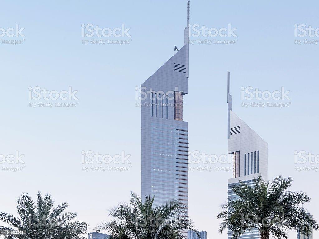 Emirate Towers stock photo
