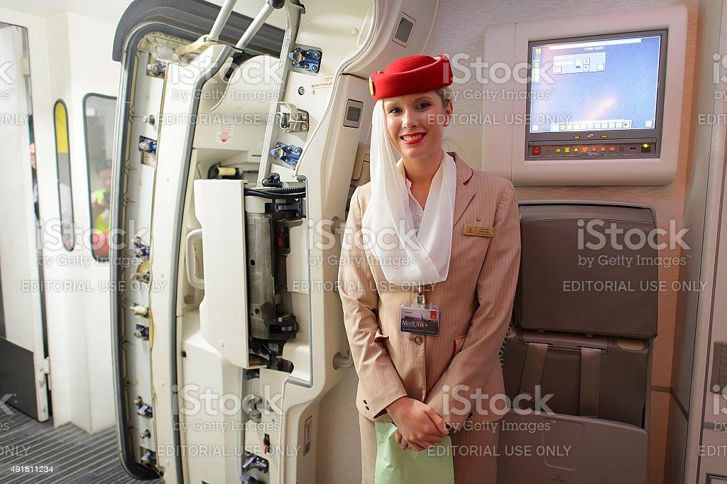 Airbus A380 Emirates crew-Mitglieder – Foto