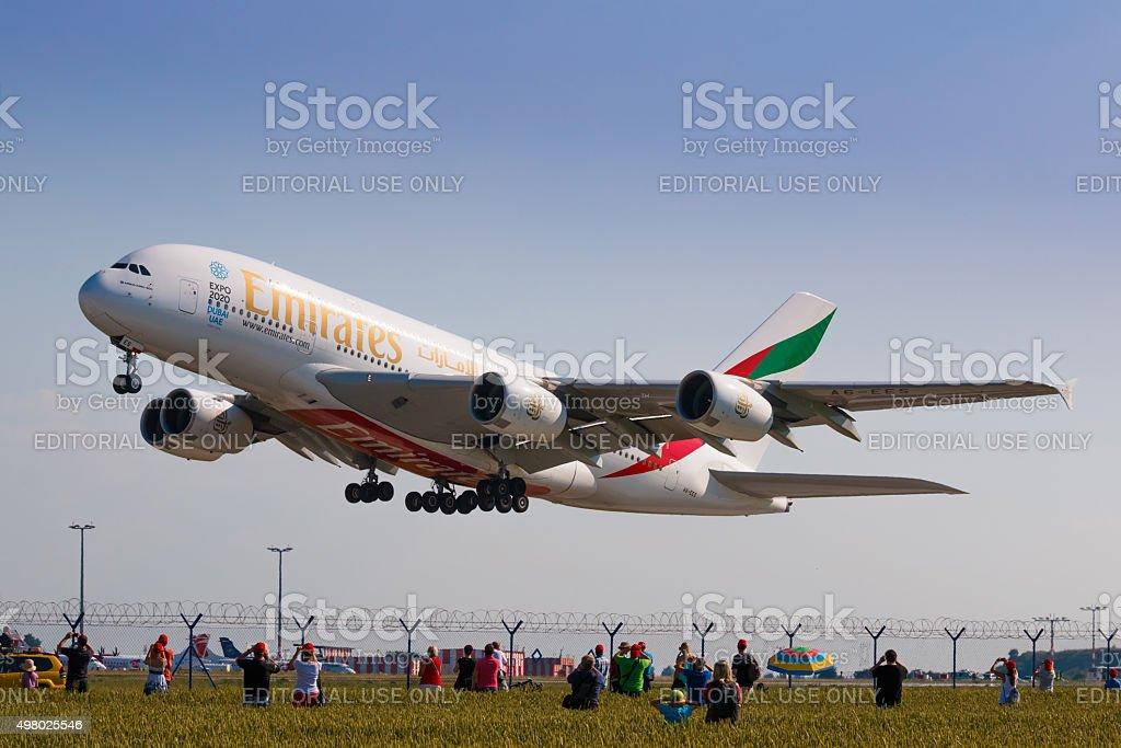 A380 de Emirates - Photo