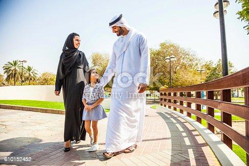 472869308 istock photo Emirati family in Dubai - enjoying weekend 610152452