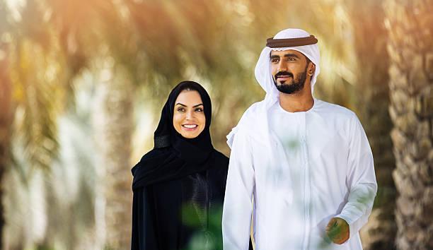 emirati-familie - vereinigte arabische emirate stock-fotos und bilder
