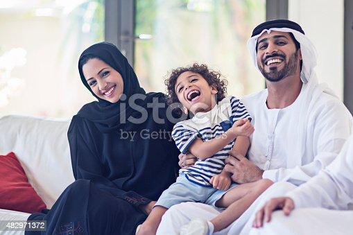 istock Emirati family portrait 482971372