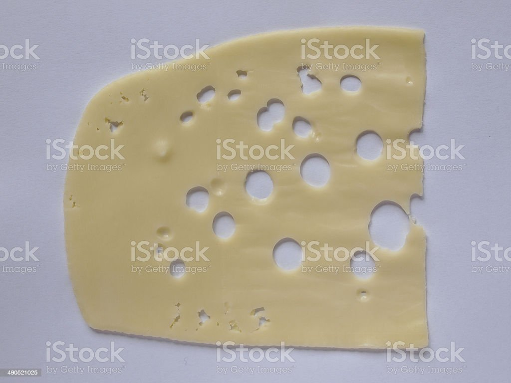 Emmentaler cheese royalty-free stock photo