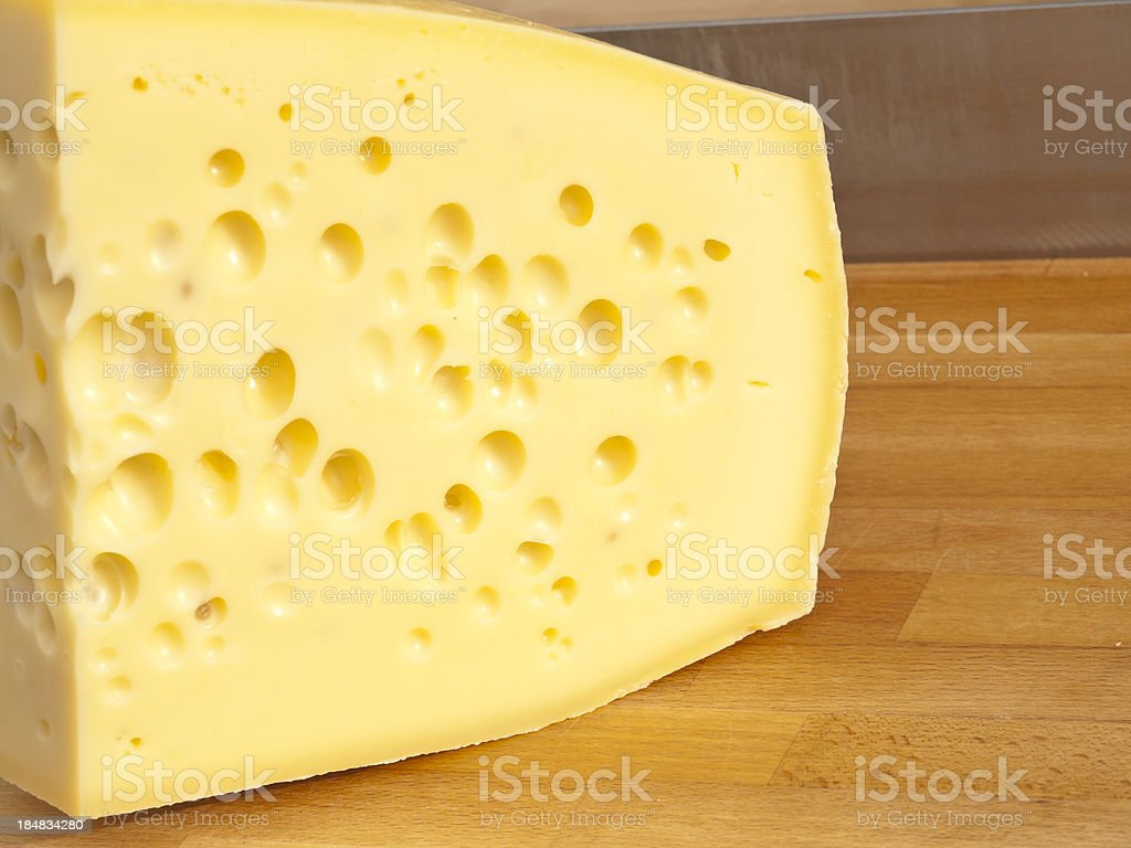 Emmentaler royalty-free stock photo