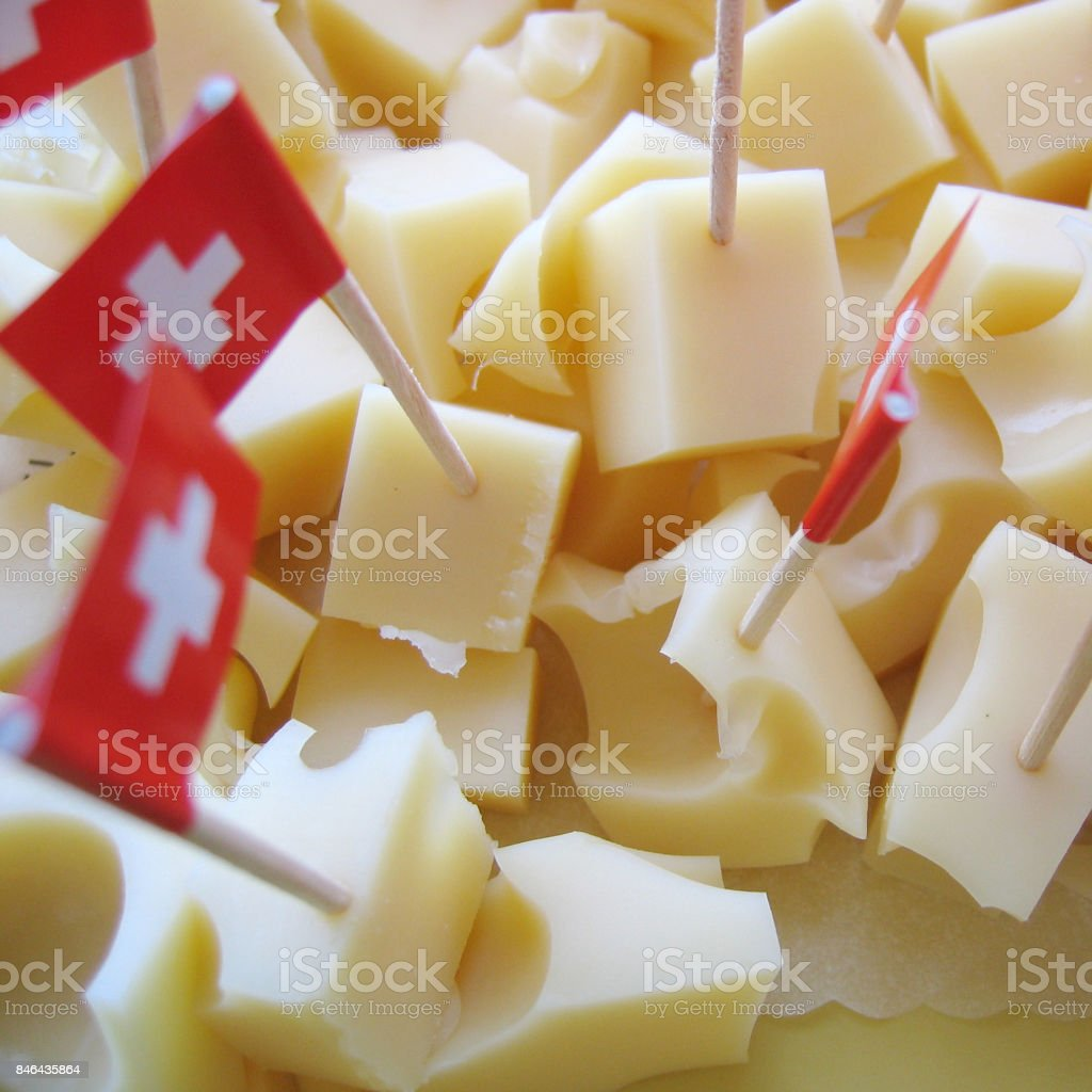 Emmenthal Cheese stock photo