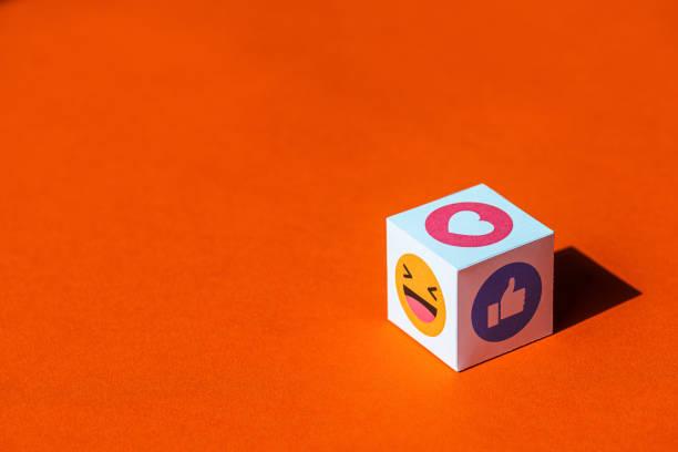 Emoji-Symbole von Facebook Messenger – Foto