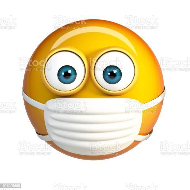 Emoji with hygienic mask surgical mask face emoticon picture id921029866?b=1&k=6&m=921029866&s=612x612&h=ol4fdfuacybumv0ehgexi5t5p9nx3qbbwzdxqjpjtvk=