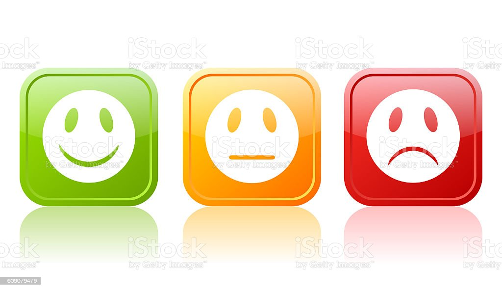 Emoticon icons stock photo