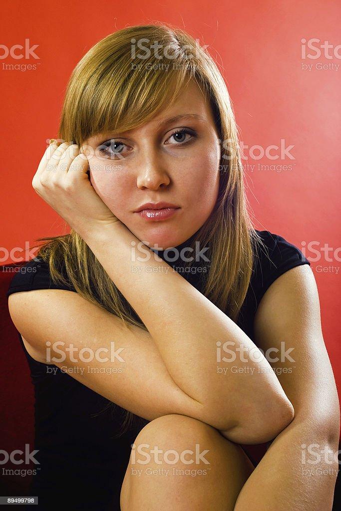 Visage d'émotions photo libre de droits