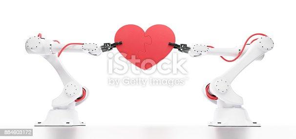 istock Emotional Intelligence In Robotics 884603172