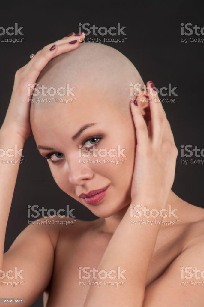 Women dark brown anus