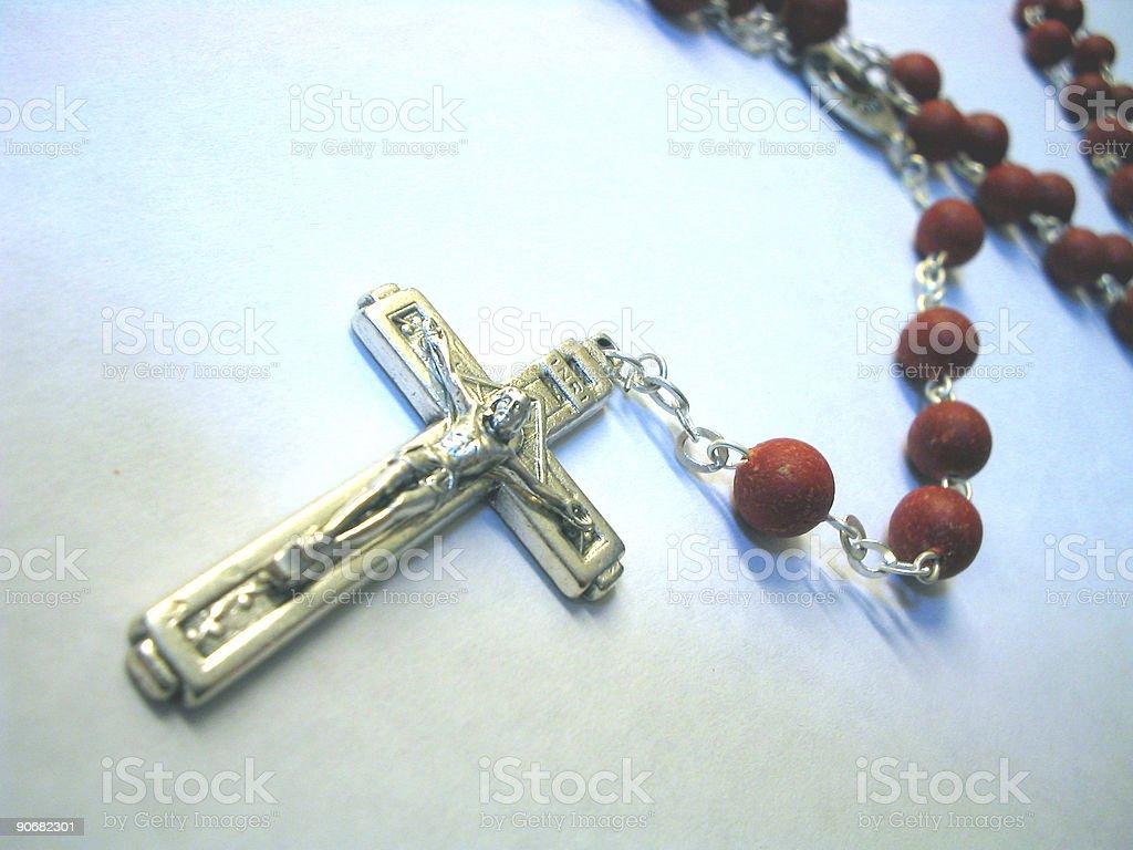 Emotional Rosary royalty-free stock photo
