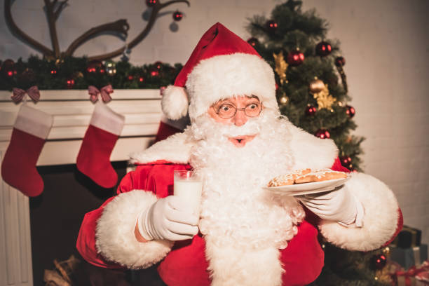 Best Santa Surprise Cookies Stock Photos Pictures Royalty Free