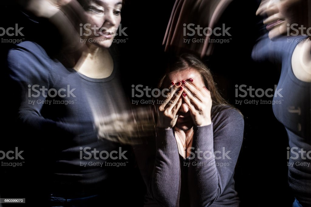 Emotional Stress Ilusions stock photo