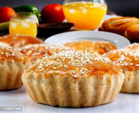 istock Empadinha, traditional Brazilian snack 1139677399