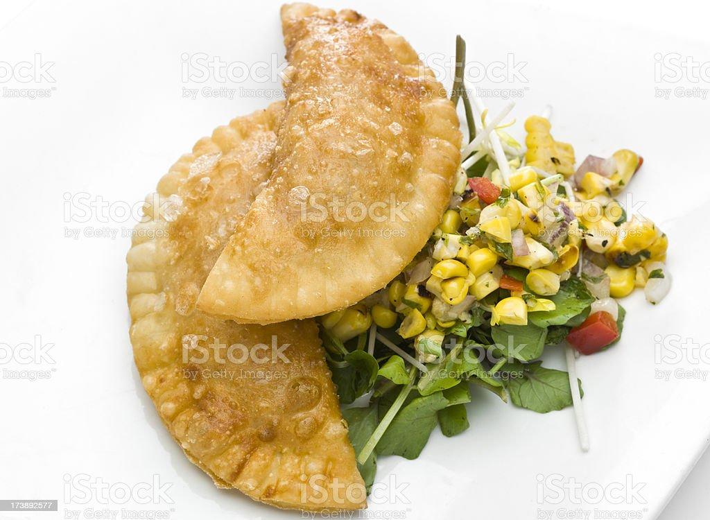 Empanadas (meat pie) royalty-free stock photo