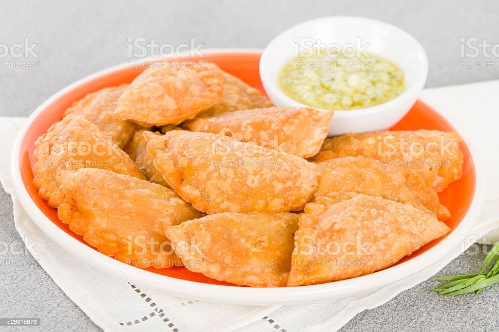 Empanadas stock photo
