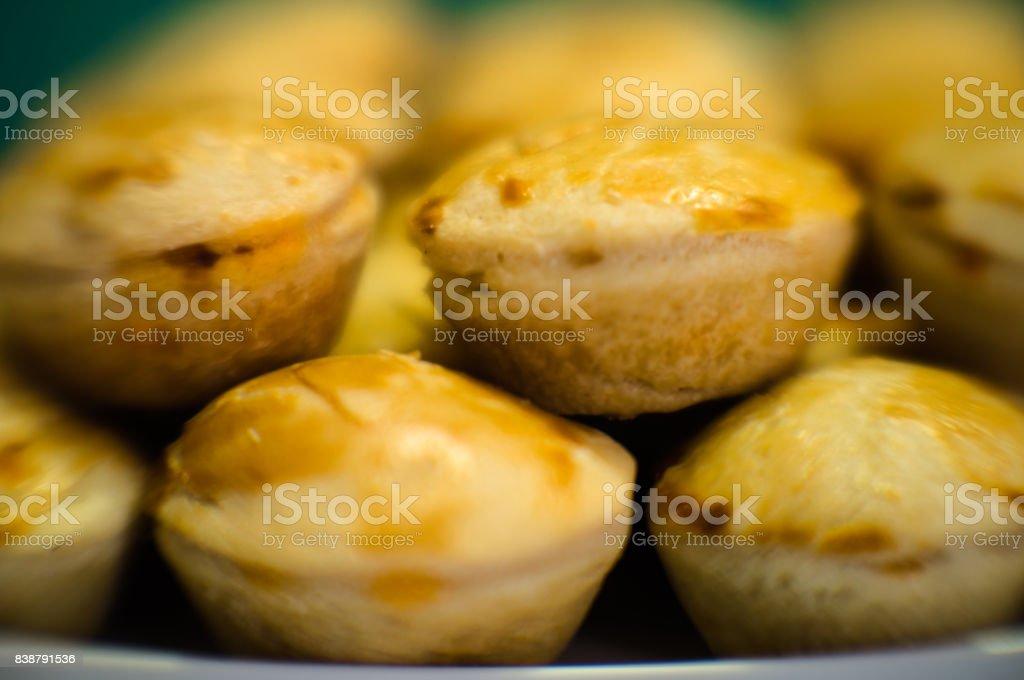 Empanadas, foco seletivo, detalhe - foto de acervo