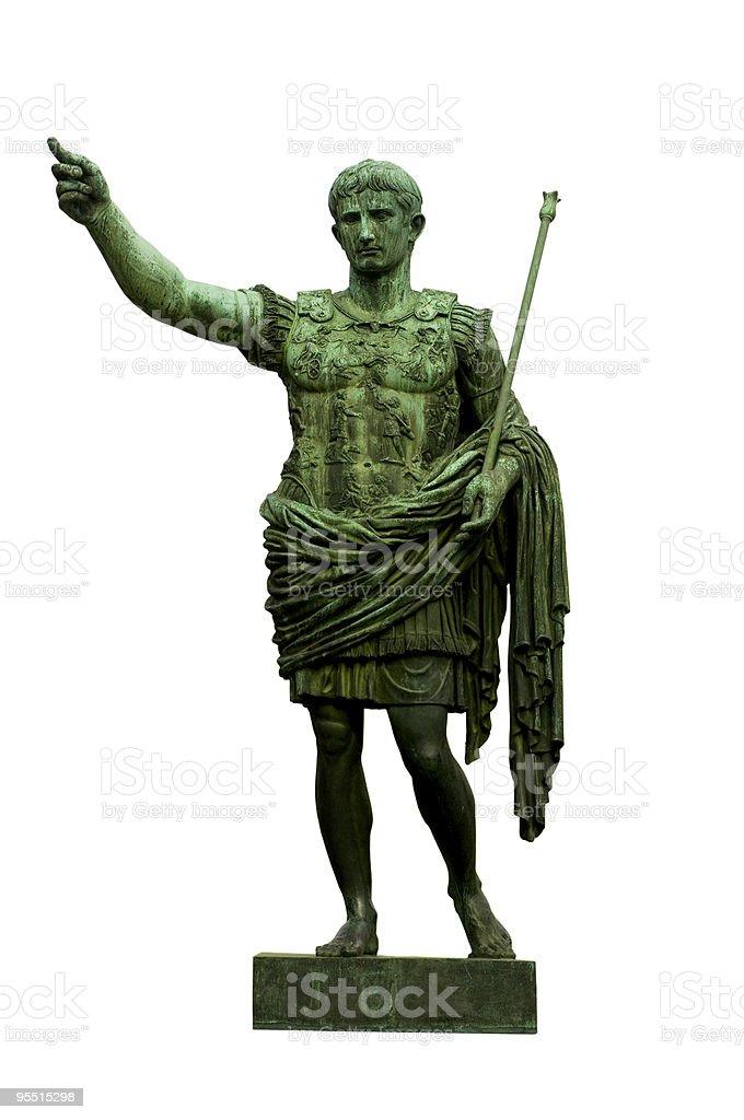 Emperor Caesar Augustus royalty-free stock photo
