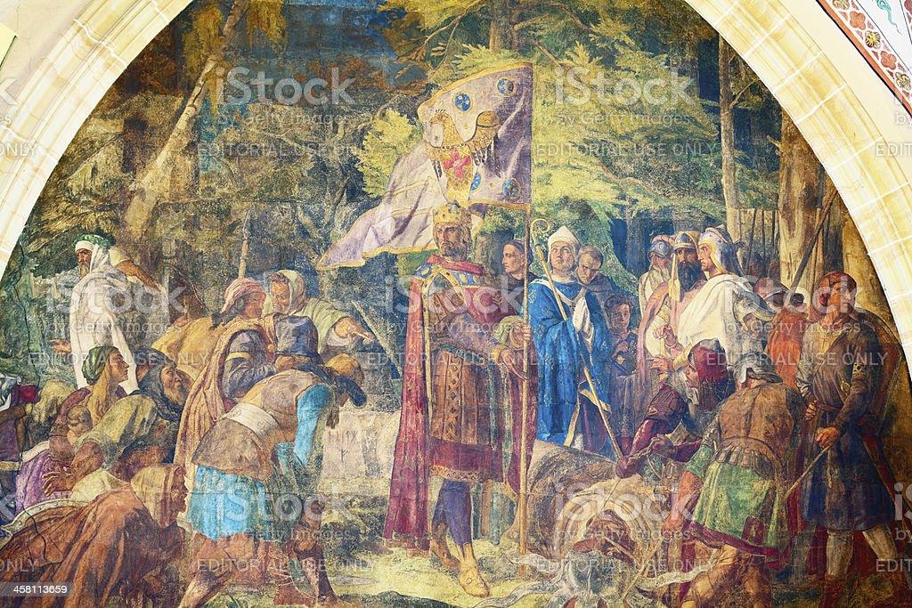 Der Kaiser Charlemagne – Foto