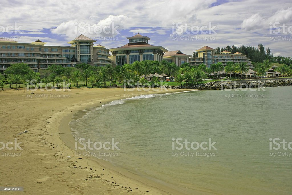 Empire hotel and country club, Brunei, Southeast Asia stock photo