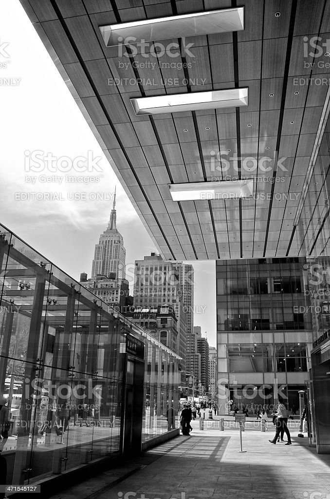 Empire State Building Cityscape, Manhattan, New York City royalty-free stock photo