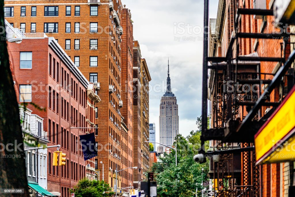 Empire State Building in New York City – Foto