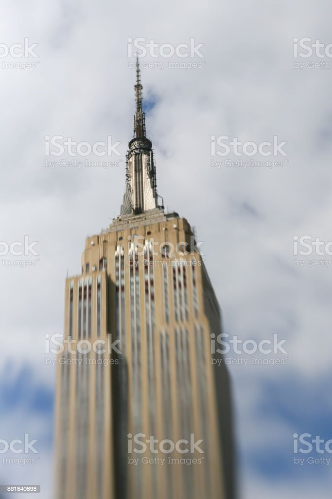 Empire State Building, New York, United States stock photo