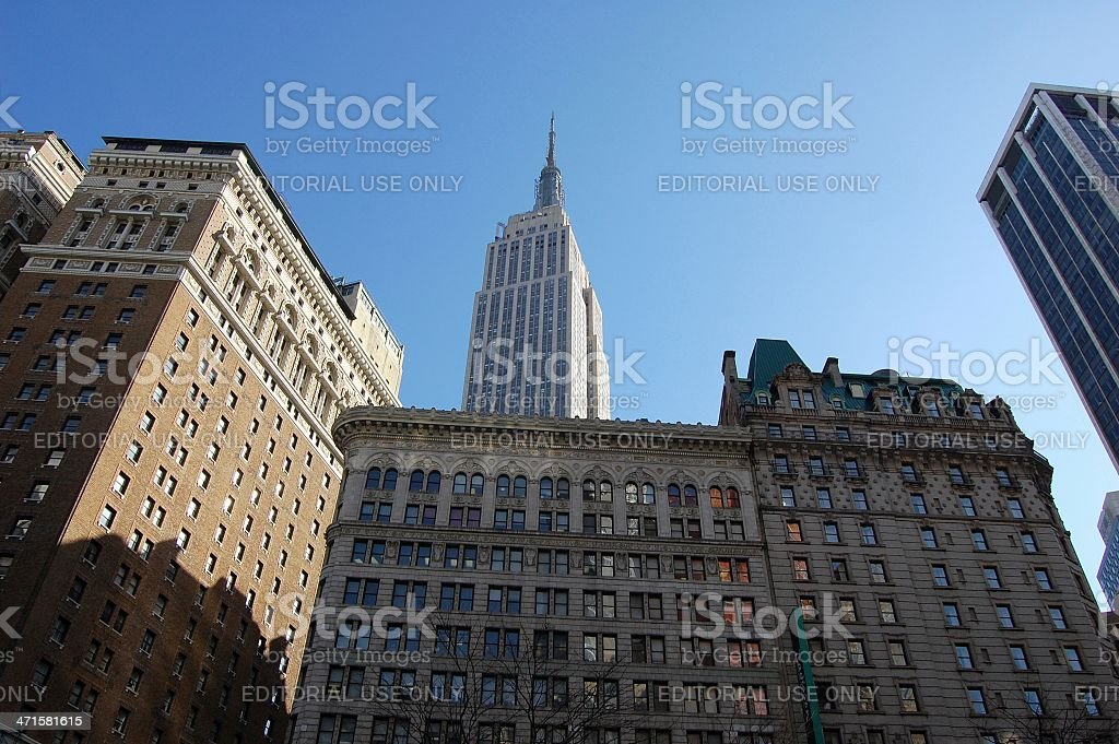 Empire state building, NYC royalty-free stock photo