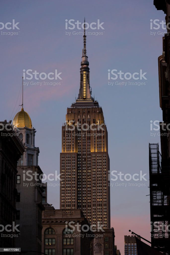 Empire State Building royalty-free stock photo