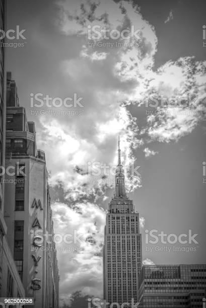 Foto de Empire State Building e mais fotos de stock de Antena - Equipamento de telecomunicações