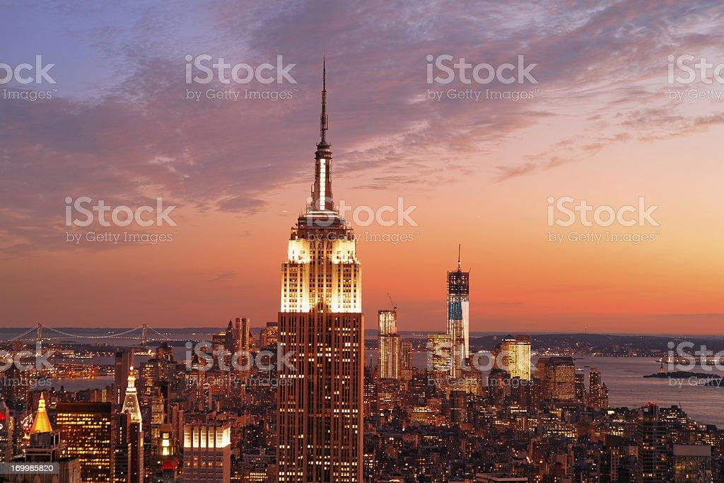 Empire State Building XXXL royalty-free stock photo