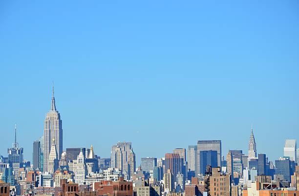 Empire State Skyline stock photo