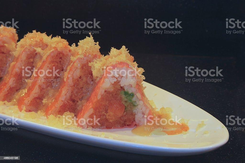 Empire Sushi Roll stock photo