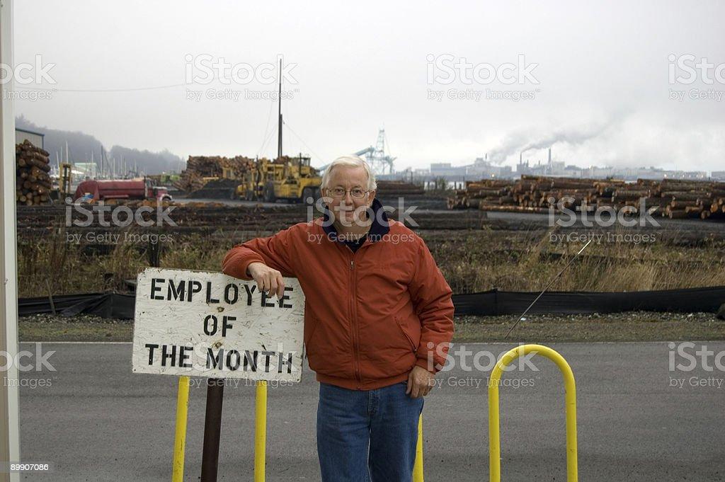 Mitarbeiter Award- der Parken Lizenzfreies stock-foto